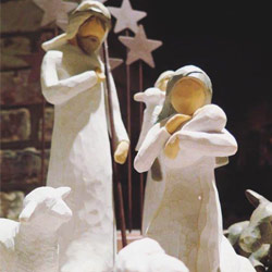 Nativity Set Holy Family Willow Tree