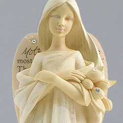 Karen Hahn Angel Figurine for Mom