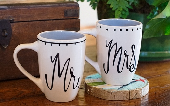 Handsome & Beautiful Mug Set