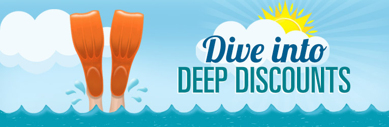 Dive Into Deep Discounts
