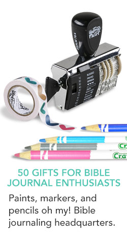 50 Gifts for Bible Journal Enthusiasts