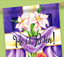 Floral He is Risen