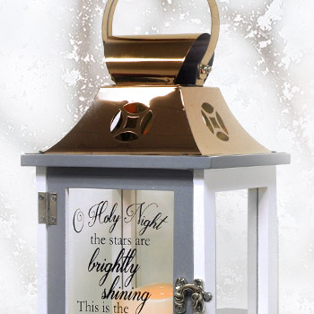 O Holy Night LED Lantern