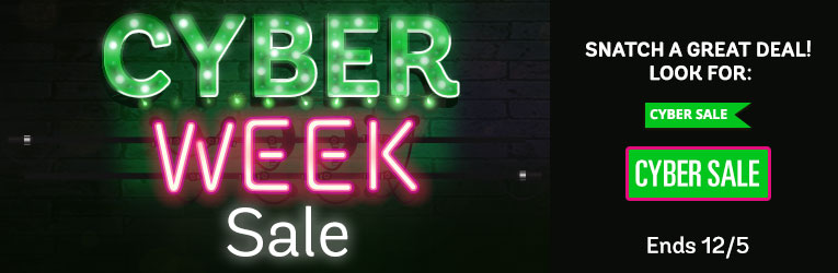 Cyber Week Sale- thru 12/5