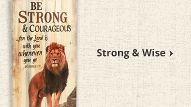 Strong and Courageous