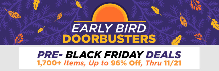 Early Black Friday Doorbusters