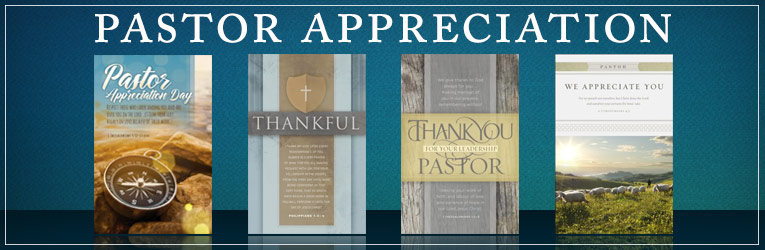 Pastor Appreciation Bulletins