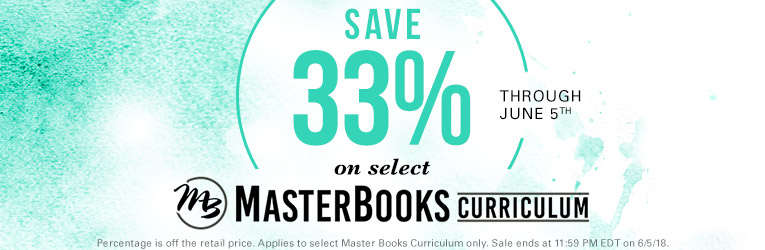 Master Books Sale