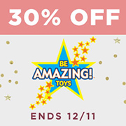 30% off Be Amazing! Toys