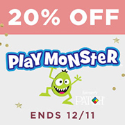 20% off Playmonster