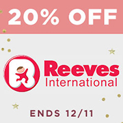 20% off Reeves International