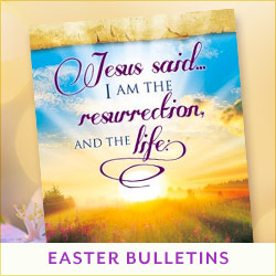 Easter Matching Bulletins