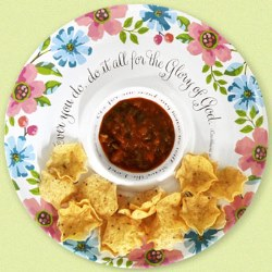 $12.99! Chip and Dip Serving Bowl