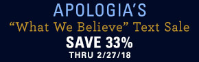 Apologia What We Believe Series Sale