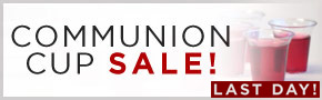 Communion Cup Sale- thru 1/22