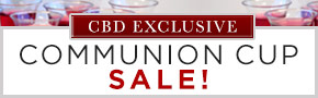 CBD Exclusive Communion Cup Sale