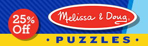 Melissa & Doug Puzzle Sale- thru 2/24