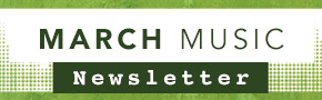 March 2018 Christian Music Newsletter