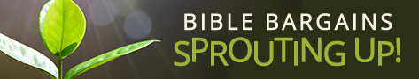 Bible Bargains- thru 4/23
