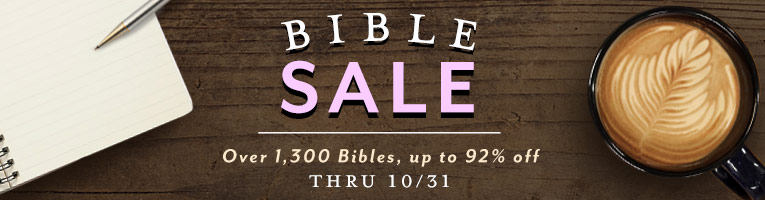 Bible Sale- thru 10/31