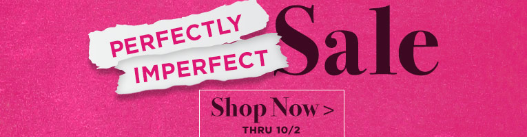 Slightly Imperfect Sale- thru 10/2