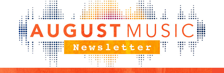August 2017 Christian Music Newsletter