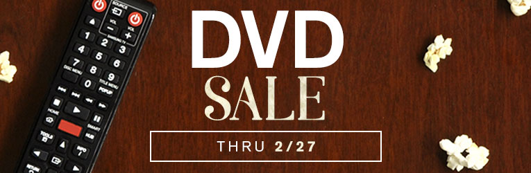 DVD Sale- thru 2/27