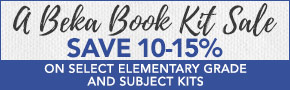 A Beka Book Kit Sale- thru 7/4