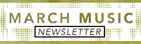 March Christian Music Newsletter