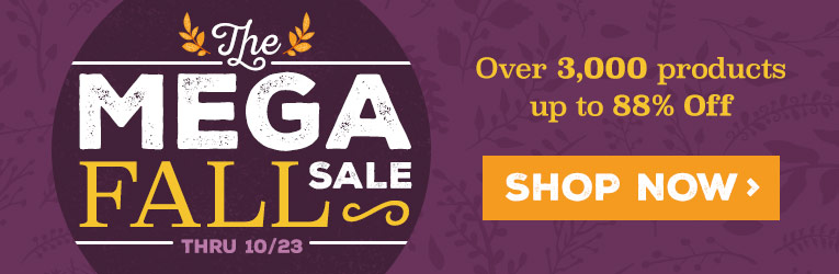 Mega Fall Sale