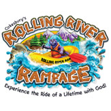 Rolling River Rampage VBS Logo