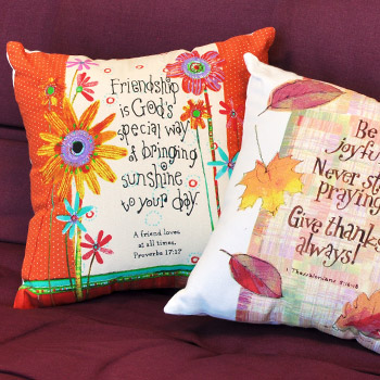 Bold & Bright Inspiration Pillows