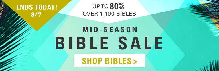 Bible Sale- Thru 9/9