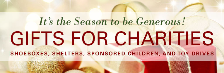 Gifts for Charitable Giving