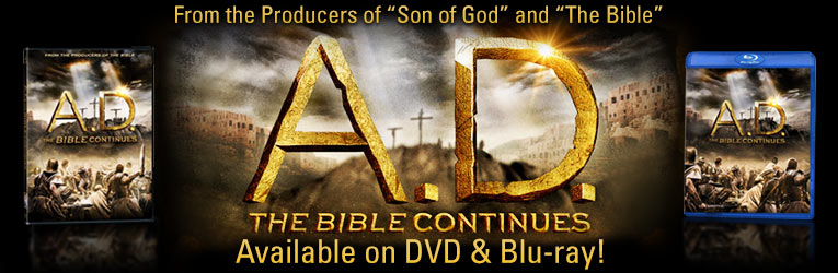 A. D. The Bible Continues DVD & Blu-ray