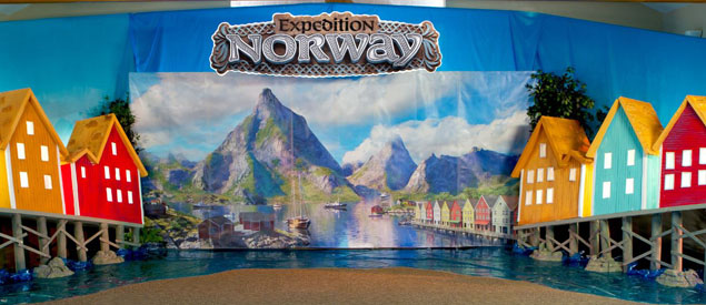 Expedition Norway VBS Decorating Sample