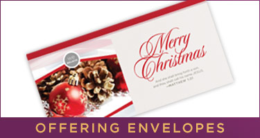 Christmas Offering Envelopes