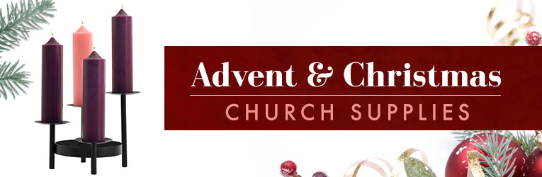 Tiered Advent Pillar Stand