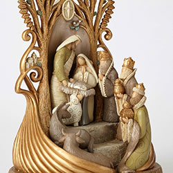 Kim Lawrence Sculpted Nativity Figurine
