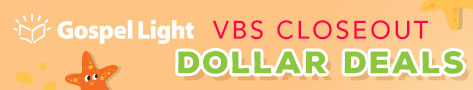 Gospel Light VBS Closeouts
