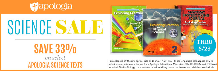 Apologia Science Sale