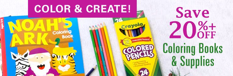 Save 20%+ off Coloring Books & Supplies