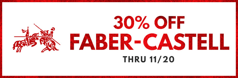30% off Faber-Castell