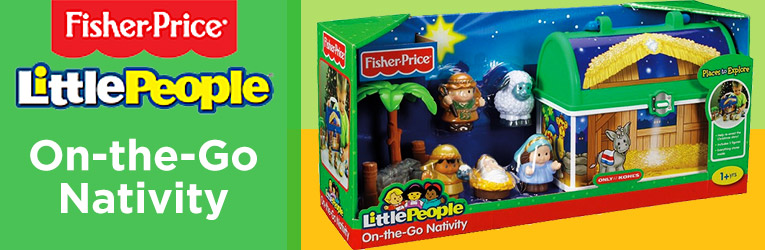 On-the-Go Little People Nativity
