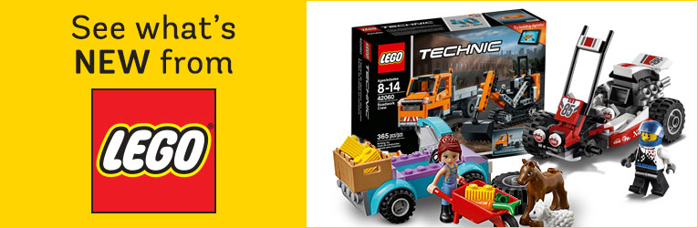 See what's new from LEGO