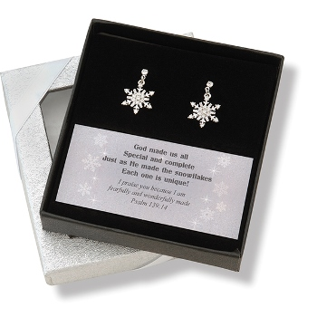 $7.49! Snowflake Earrings