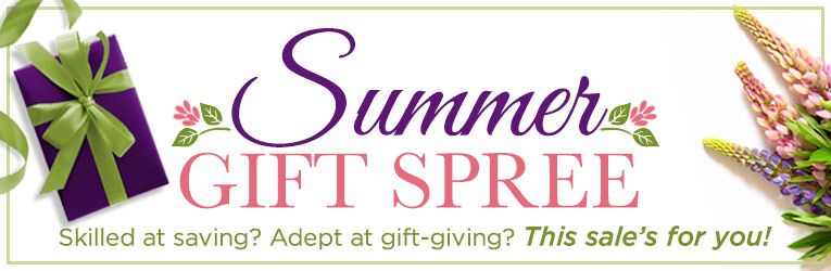 Summer Gift Spree for Savers