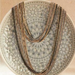 Multi-Strand Elegant Necklace
