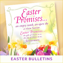 Easter Bulletins & Matching Collections