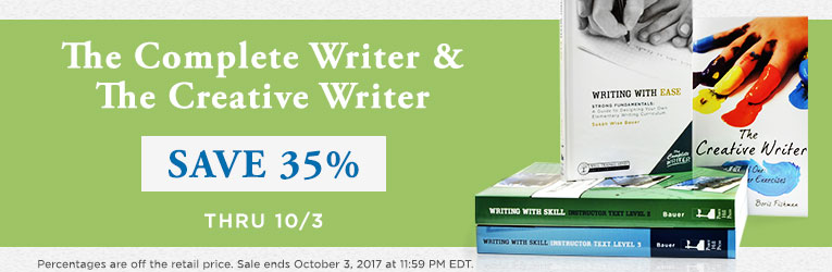 Creative Writer Sale